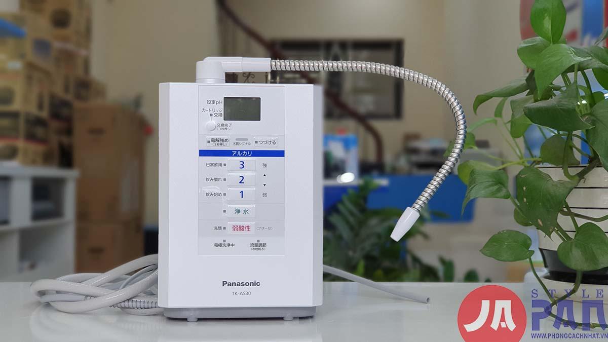 Review] và hướng dẫn sử dụng Máy Lọc nước tách ion kiềm Panasonic TK-AS30